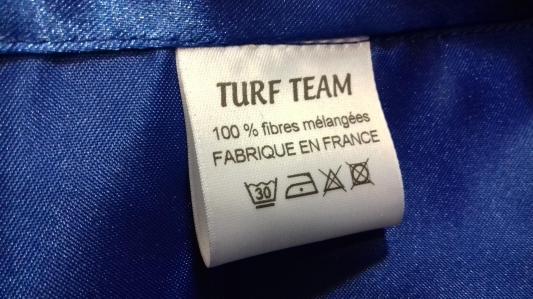 Étiquette casaque personnalisable