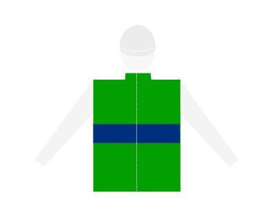 Casaque corps ceinture