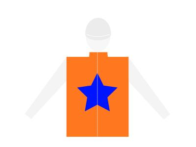 Casaque étoile