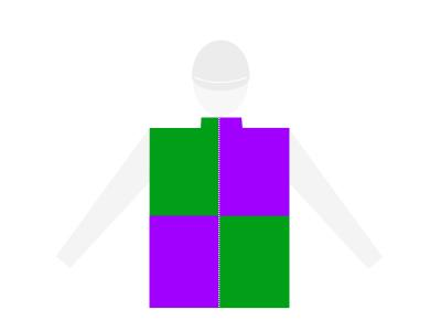 Cavalier modele croix ecartelee