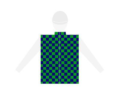 casaque damier